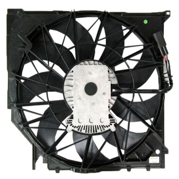 Electric Engine Cooling Fan Automotive Cooling Fan Assembly 17113442089 17113415181